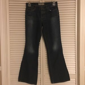 American eagle women's boot cut jeans 10 dark